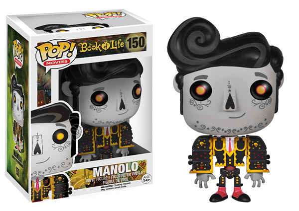 Book of Life - Manolo Remembered Pop! Vinyl