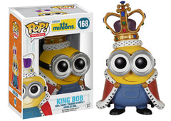 Minions Movie - Minion King Bob Pop! Vinyl