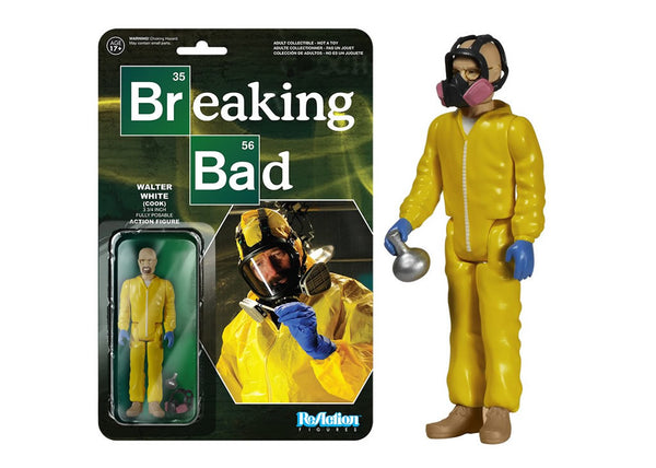05407 - Funko Reaction Breaking Bad - Walter White Cook Retro Action Figure