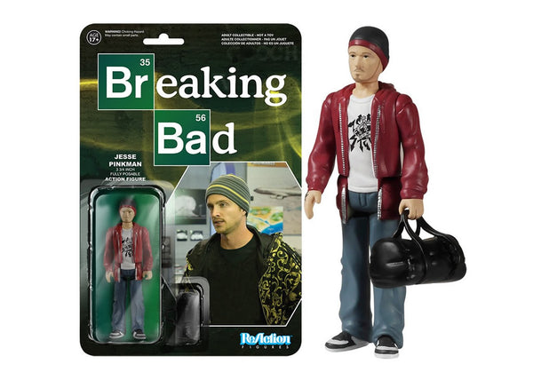 05409 - Funko Reaction Breaking Bad - Jesse Pinkman Retro Action Figure