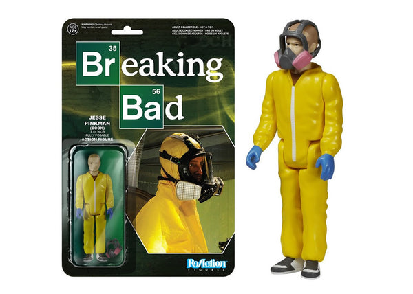 05410 - Funko Reaction Breaking Bad - Jesse Pinkman Cook Retro Action Figure