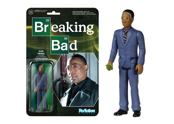 05411 - Funko Reaction Breaking Bad - Gustavo Fring Cook Retro Action Figure