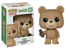 Ted 2 - Ted With Remote Pop! Vinyl