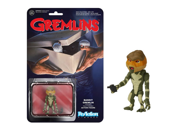 05511 - Funko Reaction Gremlins - Bandit Gremlin Retro Action Figure
