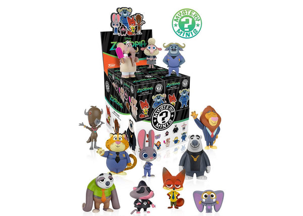 Funko Mystery Mini - Disney's Zootopia Blind Box Vinyl Figure