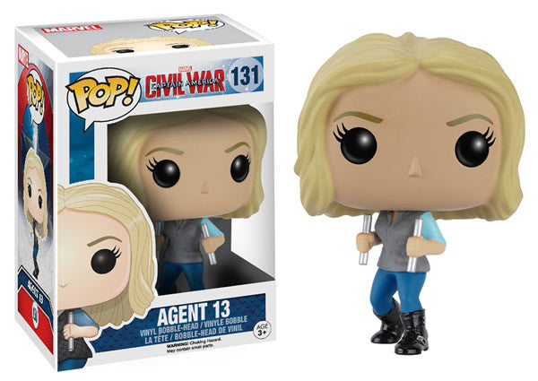 Marvel Captain America: Civil War - Agent 13 Pop! Vinyl