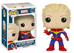 Marvel Comics - Unmasked Captain Marvel Pop! Vinyl