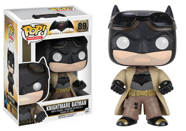 Batman v Superman: Dawn of Justice - Knightmare Batman Pop! Vinyl