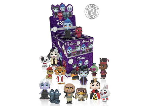 Disney Villians Mystery Mini Blind Box Vinyl Figures