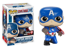 Marvel Captain America - Captain America With Shield Pop! Vinyl