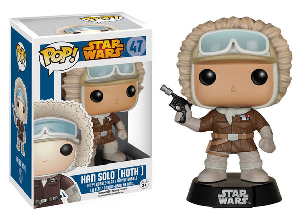 Star Wars - Han Solo In Hoth Gear Pop! Vinyl