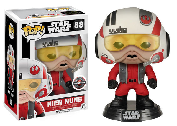 Star Wars - Nien Nunb With Helmet Pop! Vinyl