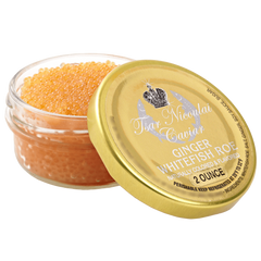 Tsar Nicoulai Naturally Infused Ginger Whitefish Roe