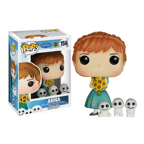 Disney Frozen Fever Anna Pop! Vinyl Figure