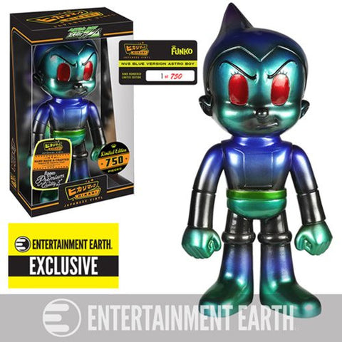 Astro Boy NVS Blue Hikari Sofubi Vinyl Figure - <p><b><font color=black>Entertainment Earth Exclusive</p><p>Limited Edition (750)</font></b></p>