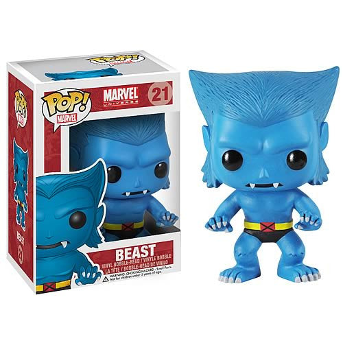 X-Men Beast Marvel Pop! Vinyl Bobble Head