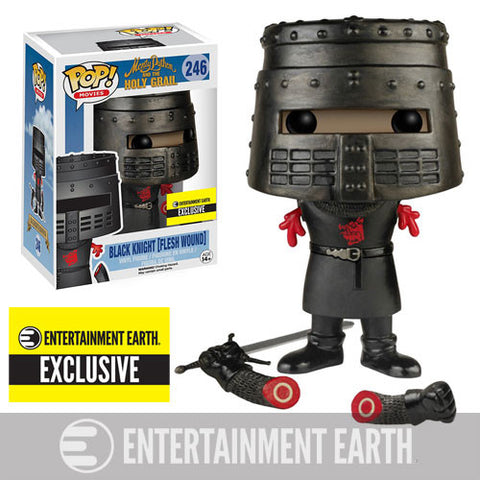 Monty Python and the Holy Grail Flesh Wound Black Knight Pop! Vinyl Figure - <p><b><font color=black> Entertainment Earth Exclusive</font></b>