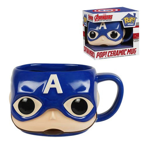Captain America Pop! Home 12 oz. Mug