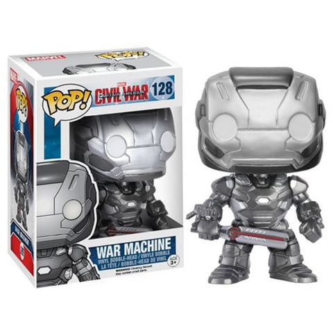 Captain America: Civil War War Machine Pop! Vinyl Figure
