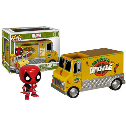 Deadpool Chimichanga Truck Pop! Vinyl Vehicle