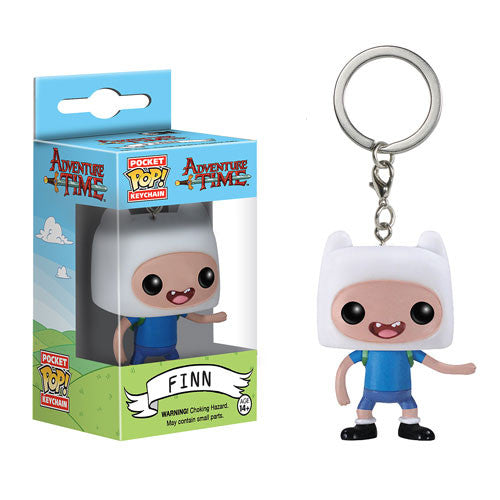 Adventure Time Finn Pocket Pop! Vinyl Figure Key Chain