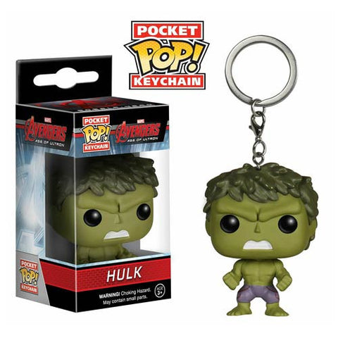 Avengers Age of Ultron Hulk Pocket Pop! Vinyl Figure Key Chain
