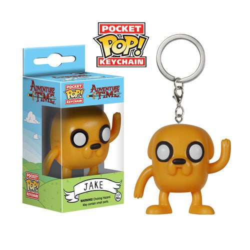 Adventure Time Jake Pocket Pop! Vinyl Figure Key Chain