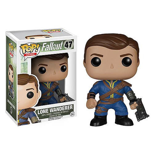 Fallout Lone Wanderer Male Pop! Vinyl Figure