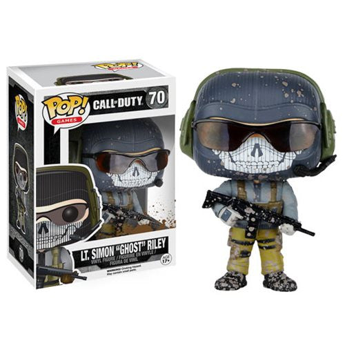 Call of Duty Lt. Simon Ghost Riley Pop! Vinyl Figure