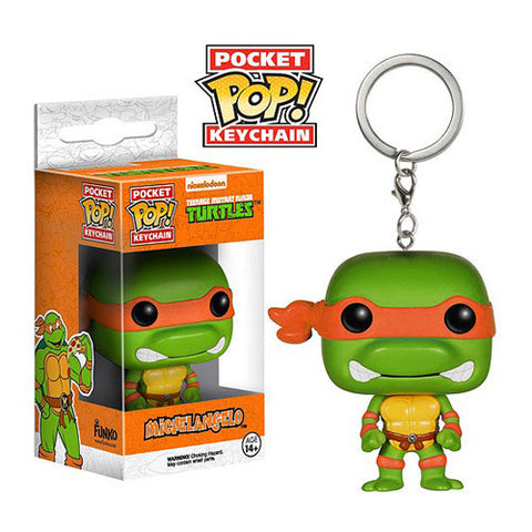 Teenage Mutant Ninja Turtles Michelangelo Pop! Vinyl Figure Key Chain