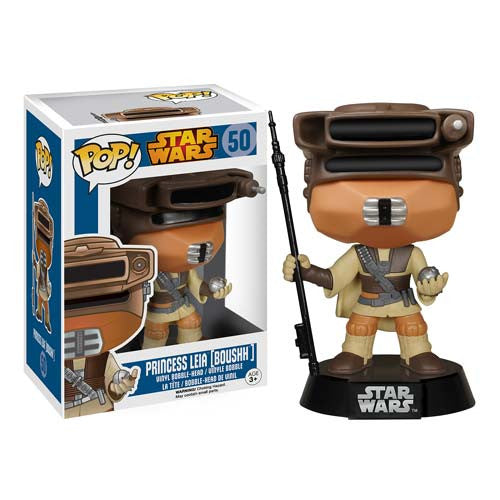 Star Wars Boushh Leia Pop! Vinyl Bobble Head