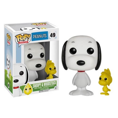 Peanuts Snoopy and Woodstock Pop! Vinyl Figures