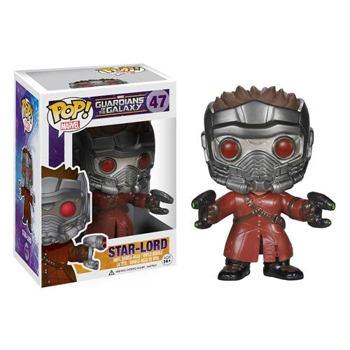 Guardians of the Galaxy Star-Lord Pop! Vinyl Bobble Figure