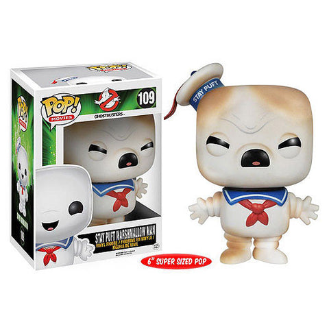 Toasted Stay Puft Marshmallow Man 6-Inch Pop! Vinyl Figure