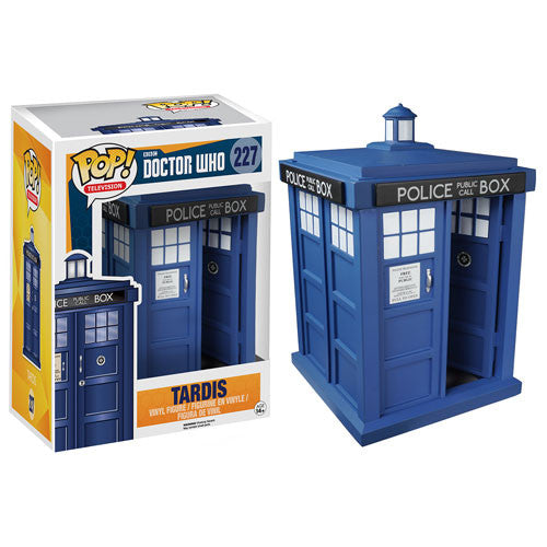 Doctor Who TARDIS 6-Inch Pop! Vinyl Figure