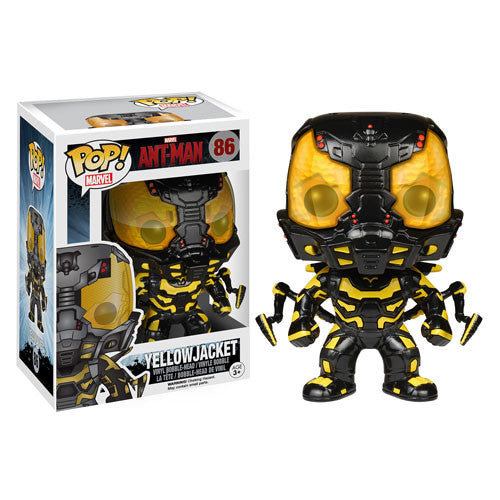 Ant-Man Yellowjacket Pop! Vinyl Bobble Head Figure