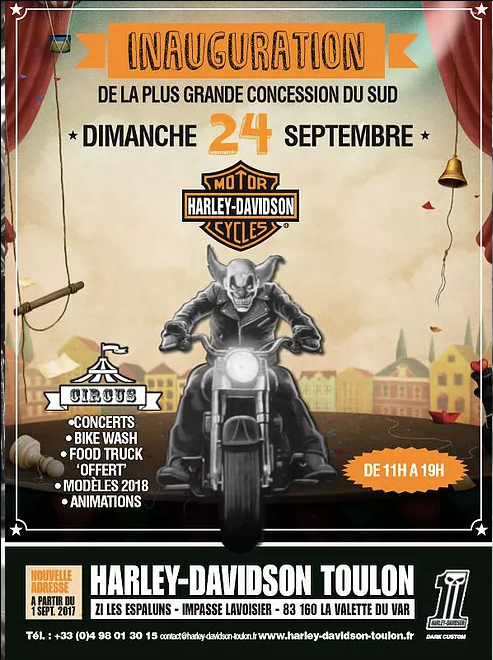 2017 Inauguration H-D Toulon