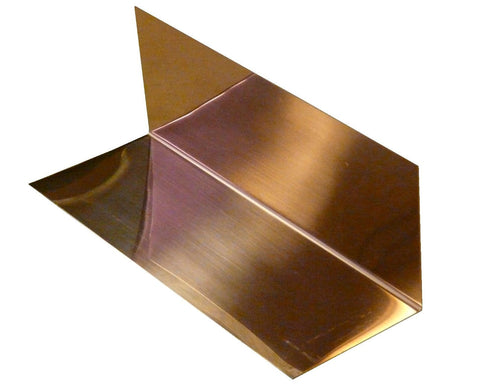 3 x 3 x 8 Copper Step Flashing