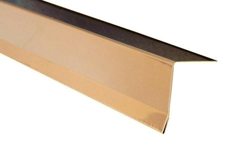 "2"" x 2"" x 8ft Copper Drip Edge (Pack of 10)"
