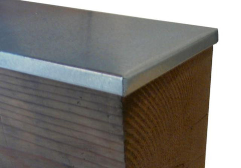 Low Profile Galvanized Beam Caps