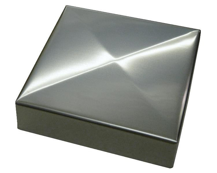 Saltire Stainless Post Caps Sheet Metal Caps