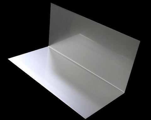 "4"" x 4"" x 8"" Stainless Step Flashing"