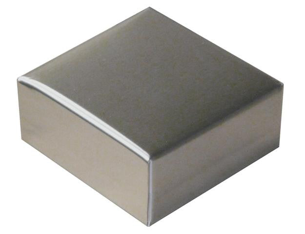 Square stainless post caps sheet metal