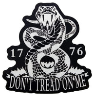 Don't Tread On Me Rattlesnake Liberty Gadsden 1776 American Flag decal sticker