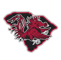 2 Pack USC South Carolina State Gamecocks Cornhole Decals Stickers Bubble Free