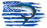 Sailfish Billfish American Flag Decals Fishing