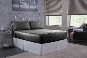 Bed Tite™ Luxury 300 Thread Count Woven Polyester Satin Sheet Set - Deep Fit Pocket