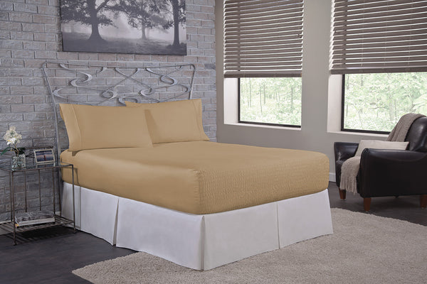 Bed Tite™ 500 Thread Count Cotton Rich Sheet Set - Deep Pocket Sheet Set