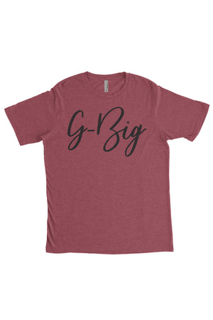 Big Little Handwriting Shirt - Next Level Unisex Short Sleeve, ladies, Sunny and Southern, - Sunny and Southern,