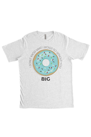 Big Little Donut Shirt - Next Level Unisex Short Sleeve, Ladies, Sunny and Southern, - Sunny and Southern,